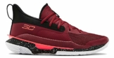 Under Armour Curry 7 rot